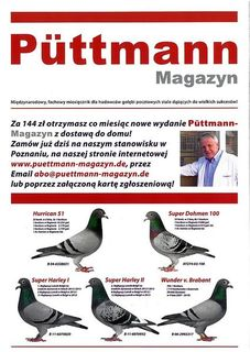 Prenumerata PÜTTMANN  - ZAMÓWIENIA TEL: 531600603