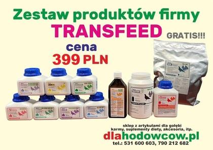 TRANS FEED ZESTAW LOTOWY 10 PRODUKTÓW + SÓL GRATIS!!!
