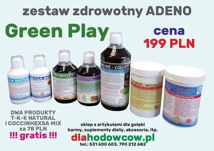 GREEN PLAY Zestaw Zdrowotny ADENO
