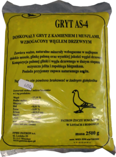 PATRON GRYT MINERALNY AS-4 2,5 kg