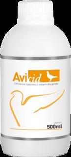 AVIMEDICA AVICID 500 ml Zakwaszacz paszowy z ziołami.
