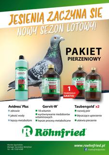 ROHNFRIED Zestaw Pierzeniowy