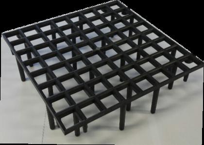 Ruszt podłogowy 1 m2