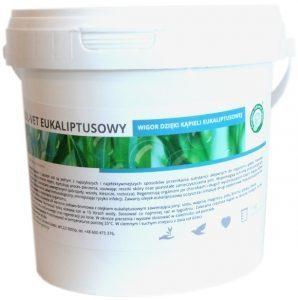 Centrum Zdrowia GOłębi Sól-vet 1kg Eukaliptusowa