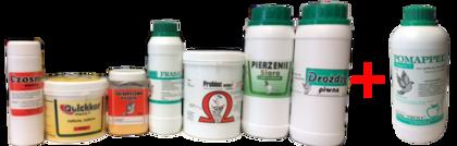 Zestaw Pierzeniowy Prima - gratis ocet Pomappel