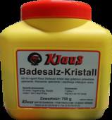 KLAUS BADESALZ-KRISTALL 750 g